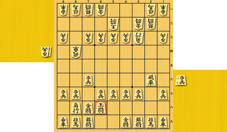 横歩取り△3三角戦法vs▲6八玉型