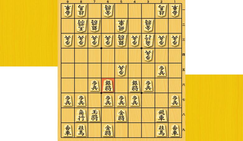 △3二金型 vs 二枚銀