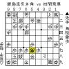 将棋の形勢判断:飯島流引き角 vs 四間飛車